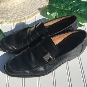 Salvatore Ferragamo Leather Dress Shoes Loafers